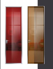 G.05 - Usi interior geam securizat, colorat RAL si model sablat - Producator-ALUMIL Grecia.jpg
